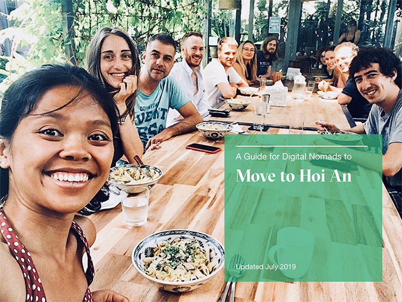 A guide for Digital Nomads to move to Hoi An, Remote Workers, Wanderlust Entrepreneurs, Free Guide to Hoi An, Hoi An Travel Guide