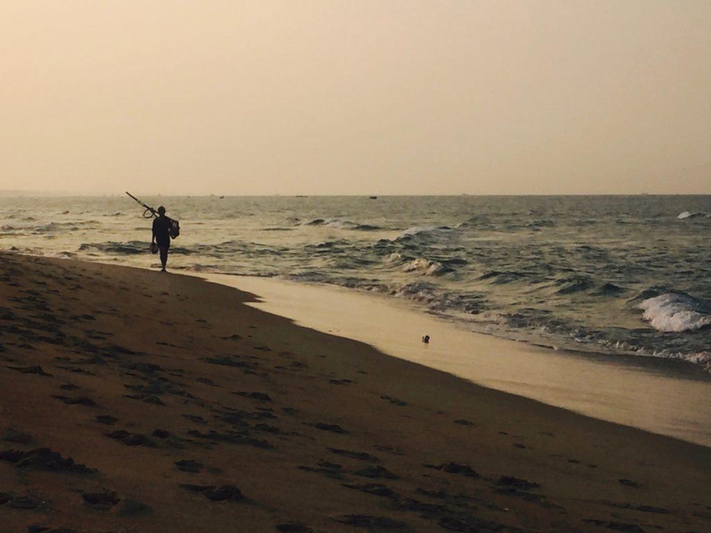 Sunset at An Bang Beach